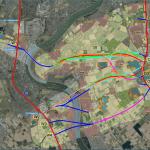 Bild der Karte mit den Ergebnissen der Kleingruppendiskussionen